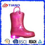 Nieuw pvc Comfortable Rain Boot met LED Light (TNK90005)