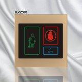 El panel al aire libre del sistema del timbre del hotel en el marco de acrílico del esquema (SK-dB100S3A)