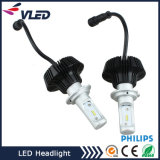 6s Fanless H7 High Power Car LED Headilght LED Kit de farol de carro H4 9004 9007 H13 P Hilips ou E Dison LED