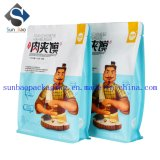 8-Side Seal Custom impresso Kraft Paper Food Packing Bag