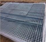 Reja galvanizada sumergida caliente del acero de la plataforma de la prolongación del andén de la fábrica
