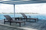 Outdoor Beach Furniture Hotel Beachside Rattan Sun Lounger