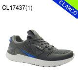 Zapatos del deporte de la zapatilla de deporte de los hombres con la planta del pie elástico del acoplamiento y del amortiguador