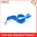 Cordão de poliéster personalizado, fita com anexo de plástico