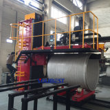 大きい直径のステンレス鋼の継ぎ合わせられた管の溶接機