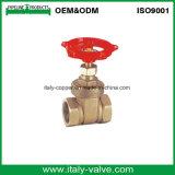 Fábrica chinesa feita forjada válvula de porta de flange de bronze (AV4035)