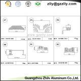 Dissipateur thermique en aluminium de matériaux de construction pour l'équipement de la machine