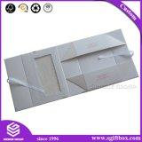 Caixa Foldable simples de empacotamento de papel personalizada do presente cosmético