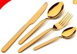 Ложка и вилка Cutlery нержавеющей стали установленные для гостиницы