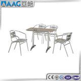 Горячая продажа домашних и офисных мебель полностью алюминиевый стул и письменный стол