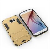 Cas d'armure Slim pour vente directe en usine pour Samsung PC + TPU Housse pour téléphone portable en silicone