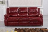 Sofá reclinável da China, Sofá moderno de sala de estar, Sofá de função dobrável de cama (UL-NS342)