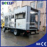 El tornillo de móvil integrada de la máquina de deshidratación de lodos de aguas residuales municipales