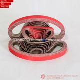 20*520mm, P60, cinghie di smeriglitatura di ceramica per metallo stridente