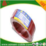 Transparente del altavoz del cable 12 AWG, cable paralelo gemelo
