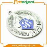 Dernière conception Médaille d'argent avec émail doux