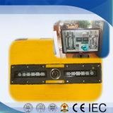 (Color automático) Uvss bajo el vehículo que controla el sistema de inspección de la vigilancia