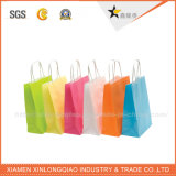 Qualitäts-preiswertes kundenspezifisches förderndes Papierbeutel-Firmenzeichen