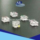 Corchetes de cerámica del zafiro dental ortodónticos con alta calidad