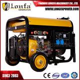 Beweglicher 10kVA Benzin Gx690 Doppelt-Zylinder Schweißens-Generator