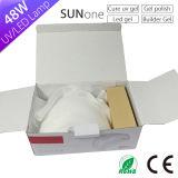 48 W de la luz de la uña Sunone doble onda Nail LED Lámpara UV