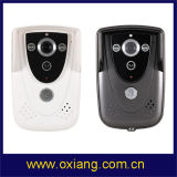 A porta video portátil a mais atrasada Bell Ox-Wd1 de WiFi com controle do intercomunicador e de câmera por Smartphone (Android da sustentação e dispositivos do IOS)