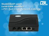 Gateway do SIP VoIP da Cruz-Rede do elevado desempenho de DBL (RoIP-102)