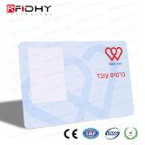 ISO14443A 13.56MHzのスマートな学生または原料または会員IDのカード