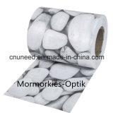 Cerca del jardín de la pantalla de la tira del PVC de Marmorkies-Optik 450g el 19cm*35m de la buena calidad