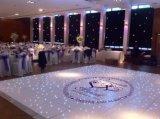 Etiquetas do decalque do assoalho do casamento do monograma do certificado dos decalques de Dance Floor