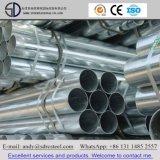 INMERSIÓN caliente de las BS 1387 y pre galvanizado alrededor del tubo de acero
