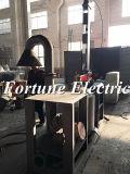 Pequeno forno de fusão do minério de cobre
