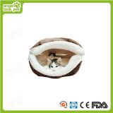 Seashell-Form-Plüsch-bequemes Hundebett