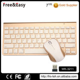 Ultra Slim Wireless Bluetooth Mouse e teclado combinado para laptop, PC