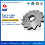 Indexable側面およびPT01.12j50.200.14を製粉する表面製粉カッターの表面。 炭化物の挿入Mpht120408DmとのH20/SMP03-200X20-K50-MP12-14