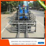 중국에서 Hydraulick 깔판 포크 바퀴 로더