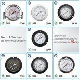 Gaz ou liquide de pression d'acier inoxydable d'indicateur de pression de 005 installations