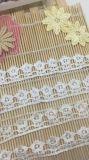 Lacet chimique en nylon de fantaisie de garniture de polyester de broderie de largeur de la vente en gros 2.5cm d'action d'usines de broderie pour l'accessoire de vêtements et les textiles et les rideaux à la maison