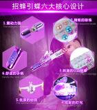 32speed het navulbare Vrouwelijke Volwassen Speelgoed die van het Geslacht de Vibrator van de Parel roteren