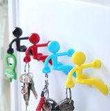 Стена новизны взбираясь сильная магнитная вешалка держателя ключа типа человека