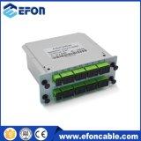 1*16 Sc/Upc Lgx 상자 플러그 접속식 수동적인 디지털 광학적인 PLC 카드 쪼개는 도구