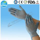 Устранимые прозрачные перчатки PE