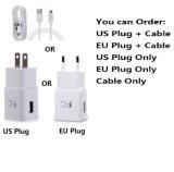 전화 은하 주 5 S6 가장자리를 위한 빠른 비용을 부과 적합한 벽 충전기 USB 케이블