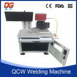 Grabador de la soldadura del metal de la soldadora de laser de la fibra de China