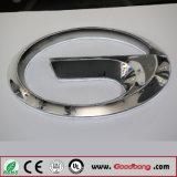 Backlit акриловый Chromed знак тавра автомобиля СИД