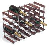 Витрина магазина Custome надувательства розницы шкафа вина 30 бутылок деревянная