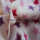 星プリントが付いている100%年のPolesterの北極の羊毛