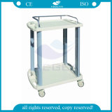 AGLpt005A医学の病院の車輪が付いている安い緊急のトロリーカート