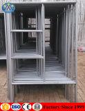 工場価格の電流を通された二重梯子フレームの足場1219mmx1700mm