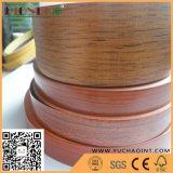 borda de borda de madeira do PVC da grão 1.5X40 para a mobília